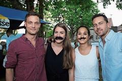 Stefan Kreis, Carole Bitzer, Nicole Whett und Marc Singer. (Bild: Bilder: Chris Marty/tgplus.ch)