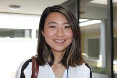 «Es ist so friedlich hier. Das ist die richtige Umgebung, Musik zu machen», sagt die 26-jährige Nicole Ying. Sie stammt aus China und studiert in den USA.