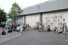 Szene vom Kunstfestival Kraut von letztem Sommer. (Bild: Kunstfestival Kraut/PD)