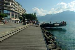 Sommer in Montreux. (Bild: Josef Müller)