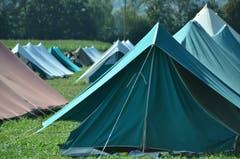 Doch Zelte sind am häufigsten.
