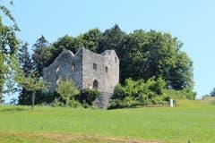 Burgruine Nünegg in Lieli, als Burg erbaut im 13. Jahrhundert, von den Herren von Lieli. Restauriert 2014-16. (Bild: Josef Habermacher)