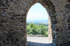 Ehemaliger Eingang (Burgtor) zur Burg Nünegg in Lieli. (Bild: Josef Habermacher)