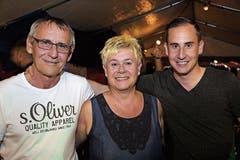 Buddy und Monika Löffel mit Remo Löffel, alle aus Münchwilen. (Bild: Bilder: Chris Marty)