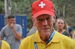 Oberst Hansruedi Weber aus Beromünster: Der 79-Jährige machte schon beim ersten Armee-Engagement im Jahr 1963 mit. (Bild: Peter Soland)