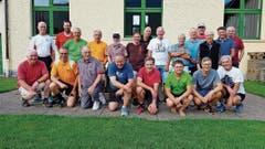 Die Männerriege traf sich am 3. Juli letztmals bei der Turnhalle Buchserbach (früher Grof). (Bild: PD)