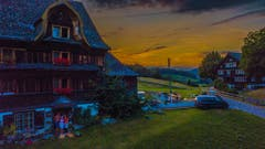 Coole Abendstimmung in Krummenau. (Bild: Renato Maciariello)
