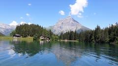 Es gehört zu den idyllischsten und meistfotografierten Sujets in den Urner Bergen: der Arnisee auf 1370 Metern über Meer. (Bild: Josef Mulle, 20. Juni 2018)