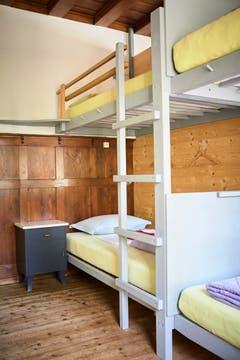 16 Schlafplätze stehen den Gästen zur Verfügung. (Bild: Jakob Ineichen)