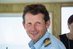 Richard Gafner ist einer der erfahrensten Seeleute der SBS-Flotte.