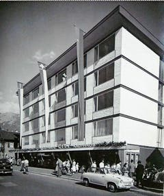 Die feierliche Eröffnung des Kaufhauses City (später Jelmoli) fand am 5. Juni 1958 statt.
