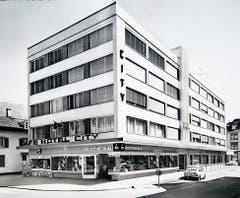Das neue Hotel und Café-Restaurant City wurde ab 1964 prägend für das Einkaufszentrum.
