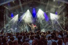 Xen zieht das Publikum in seinen Bann. (Bild:André A.Niederberger (Sarnen, 28.Juli 2018))