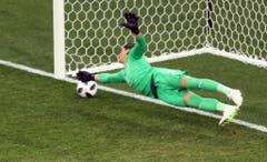 Sommer im Spiel gegen Costa Rica. (Bild: Keystone)