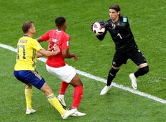 Sommer im Spiel gegen Schweden. (Bild: Keystone)