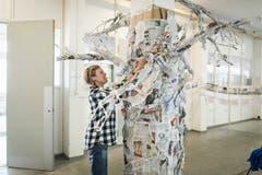 Ein Papierbaum...