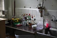 Ein ehemaliges, zur Bar umfunktioniertes Labor. (Bild: Reto Voneschen - 18. Juni 2016)