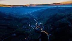 Von Nesslau aus aufgenommen mit blick Richtung Wattwil (Bild: Renato Marciariello)