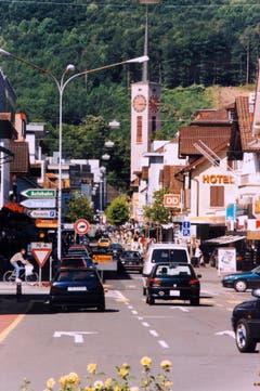 Das Einkaufszentrum in einer Aufnahme vom 30. Mai 1998. (Bilder: Archiv Hansruedi Rohrer)