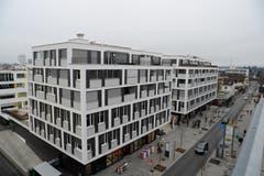 Die Gross-Überbauung «Blickpunkt» ist ein geglücktes, städtebauliches Element.