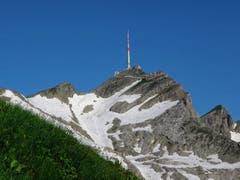 Der Säntis vom Rotsteinpass aus gesehen (Bild: Toni Sieber)