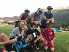 Kinder im Pfarreilager Kerns während des Geländespiels. (Lagerbild: Lea Monti, Därstetten 29. Juli 2018)