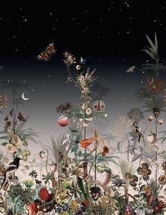 Der Vampirfilm «Twilight» inspirierte Annina Arter zu ihrer bestverkauften Tapete für Schlaepfer. (Bild: Jakob Schlaepfer)