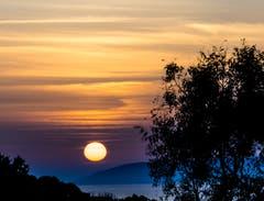 Sonnenuntergang an der Nordküste von Sardinen. (Bild: Stefan Kunz)