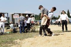 Weinfelden TG ,07.07.2018 / NOS - Nachwuchsschwingen auf dem Gelände der Paul Reinhard Schule Weinfelden
