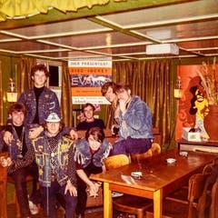 Treffpunkt war meist eine Diskothek in Lichtensteig. Blacky hatte oberhalb der Beiz ein Zimmer. (Bild: Michel Canonica/Privatarchiv Beat Cina)