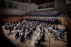 Klassikkonzert u. a. mit Chor Santa Lucia Wolhusen. (Bild: Pius Amrein (Luzern, 18. März 2017))