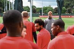 Zuversichtlich vor der neuen Saison: Liverpool-Trainer Jürgen Klopp hat ein starkes Team. (Bild: Andrew Powell/Getty (Liverpool, 10. August 2018))