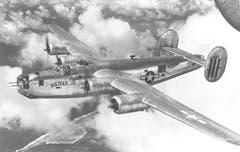 Die B-24M Liberator «Bolivar Junior» war im Pazifik gegen die japanischen Streitkräfte im Einsatz. Hier wurde der Flugzeugtyp aufgrund seiner grossen Reichweite geschätzt. Die im Vergleich zur B-17 Flying Fortress schwierigeren Flugeigenschaften, die geringere Maximalflughöhe und die geringere Widerstandsfähigkeit gegen Schäden spielten angesichts der weniger starken japanischen Flugabwehr weniger eine Rolle. (Bild: US Air Force)