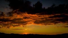 Sonnenuntergang in Nesslau (Bild: Renato Maciariello)