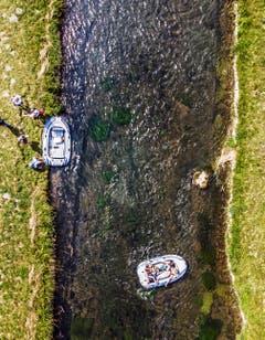 Teil 4: Eine Bootsfahrt kühlt ab. (Bild: Benjamin Manser und Michel Canonica)