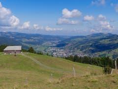Blick von Hochschwand ins Thurtal (Bild: Martin Giger)