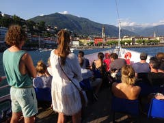 Retour in Ascona. (Bild: Josef Müller (Ascona, 16. August 2018))