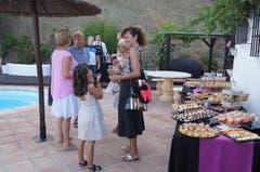 Auch Luzerner im Ausland feiern, wie hier an einer 1.-August-Feier in Andalusien. (Lukas Hammer (Riogordo, 1. Augist 2018))