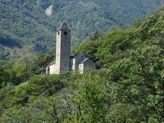 Kirche San Bernardo im wilden Valle die Sementina im Tessin. (Bild: Hans Scheidegger (Tessin, 16. August 2018))