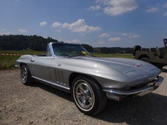 Corvette Stingray 1966. (Bild: Josef Müller, (Reiden, 19. August 2018))