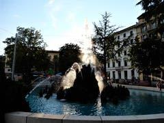 Langsam wird der wunderschöne Tag in Lugano enden und wir werden uns wieder unserer Zentralschweiz zuwenden. (Bild: Margrith Imhof-Röthlin (Lugano, 20. August 2018))
