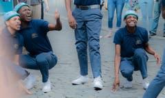 Tänzer aus Südafrika - Musikspielfestwoche. (Stefan Kunz-Distel (Luzern, 22. August 2018))