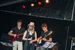 Musikschüler traten im Rahmen von «Schaufenster zur Musikschule Zug» am ersten Abend auf. (Bild: Maria Schmid (Zug, 23. August 2018 ))