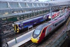 Am Bahnhof Central-Glasgow, Schottland. (Bild: Josef Habermacher)