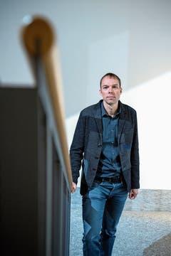 Schulpsychologe Basil Eckert: Es muss nicht immer das Maximum sein. (Bild: Pius Amrein (Kollegium in Schwyz, 23. August 2018)