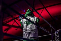 Boxing Night der World Boxing World Boxing Federation in der Bodensee-Arena Kreuzlingen. Meisterschaftskampf von Zino Meuli aus Horn gegen Tsiko Mulovhedzi aus Südafrika. Zino Meuli gewinnt gegen den Favoriten. (Bild: Andrea Stalder)