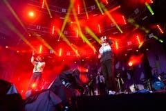 Das Duo aus Bern: Lo&Leduc performten ihren Sommerhit «079».