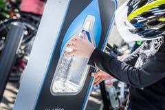 Beim Zwischenstop in Amriswil wurde Wasser statt Benzin getankt.