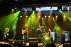 Auftritt der Next Step on Ice auf der Krempel-Bühne beim «Blickpunkt».