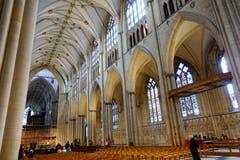 Englische Gotik im Minster in York. (Bild: Josef Habermacher)